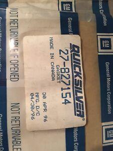 Image Is Loading 27 827154 Gm Packaged Rocker Cover Gasket Mercruiser