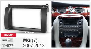 Car Stereo Radio Fascia Panel Trim Kit 2 Din Frame for MG 2007-2013  11-577 7