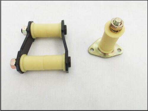 Hintere Blattfeder Bügel /& Pin mit Buchsen für Ford Ranger//Mazda B2500-2.5td