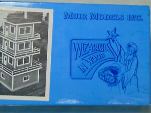 MUIR-MODELS-N-SCALE-583-Cincinnati-Yard-tower-in-original-box-887