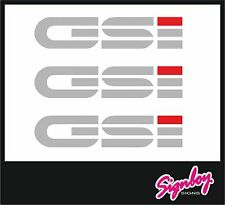Vauxhall / Opel GSI Replacement Side & Boot / Tailgate Decals Stickers Fits Nova
