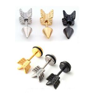 Image Is Loading Unique Stainless Steel Cool Arrow Anchor Casting Men