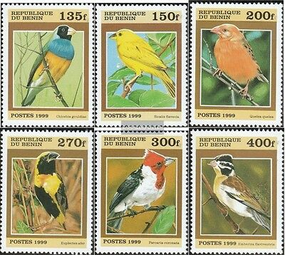 Africa Never Hinged 1999 Small Birds Out All World Topical Stamps Obedient Benin 1119-1124 Unmounted Mint