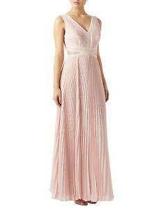 £ Ridotto Dress Taglia Pink Maxi Blush Bnwt Rrp Monsoon Meredith 129 10 TxrCqwvaT