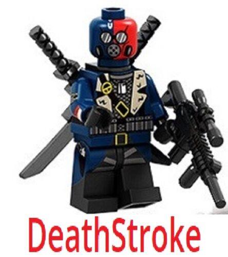 Death Stroke Custom Designed Mini figure stroke Printed Parts UK Fast Del