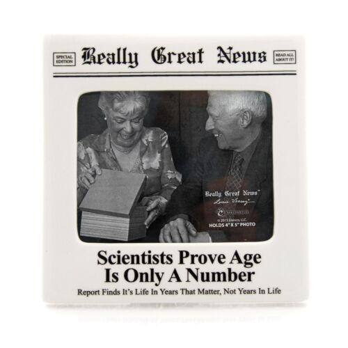 Vraiment de bonnes nouvelles 4037247 âge est seulement un certain nombre cadre photo