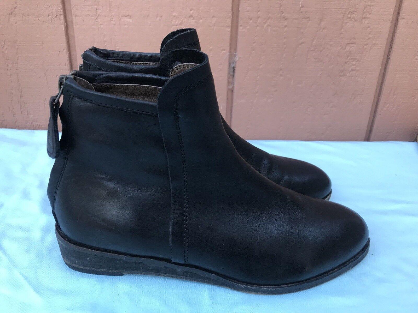 ordina ora i prezzi più bassi RARE VINTAGE GEE WAWA HAND MADE MADE MADE donna Dimensione US 6.5M nero Leather Ankle stivali AY  vendita online risparmia il 70%