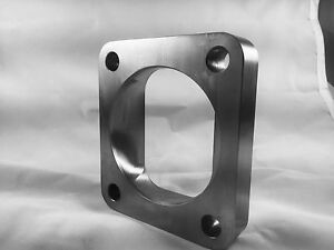 """T4 Turbo Inlet Flange To 3"""" Opening, Undivided, Smooth Airflow, Low profile .75"""""""