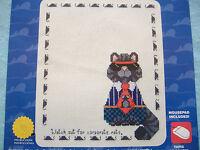 Janlynn Counted Cross Stitch Kit-corporate Rat-cat Sampler Mousepad