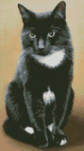 Cross-Stitch-Chart-Kit-Hobbes-Black-and-White-Cat
