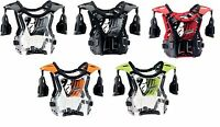 Chest Protector Child / Youth Thor Quadrant Mx Dirt Bike Atv Offroad Guard