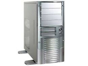 Aopen-A600A-Aluminum-350W-Mid-Tower-Case-Silver-color
