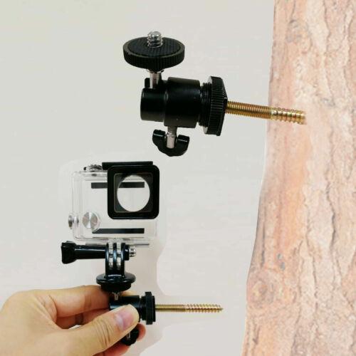 2Pk árbol de montaje para cámaras de acción tornillo de montaje GoPro Acción Cámara, Montaje de caza