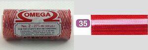 Nylon-Crochet-Thread-Size-2-Omega-Hilo-100-Nylon-Nylon-Thread