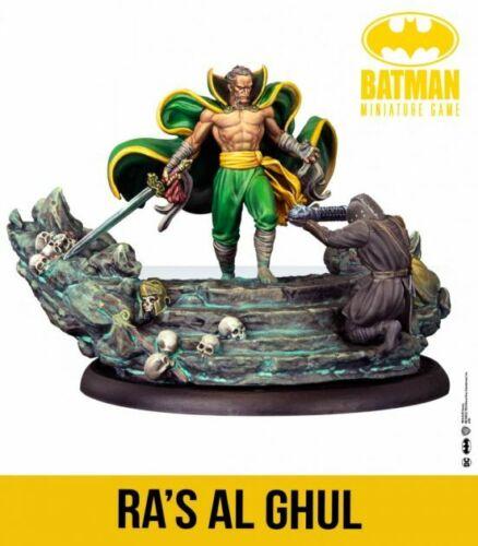 Batman// Miniature Game Ra/'s Al Ghul NIB