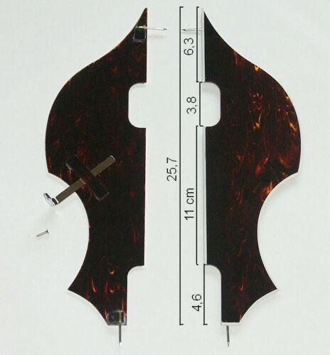 Höfner Hofner Genuine Pickguard Schlagbrett f Beatle Violin Bass tortoise