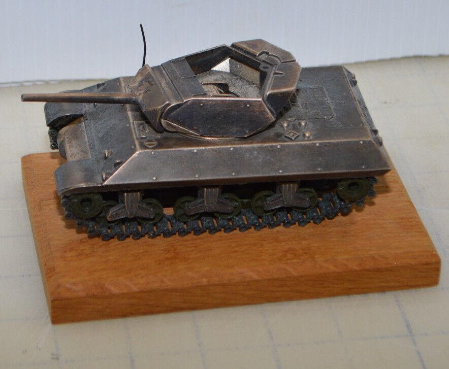 Solido M10 M10 Tank Destroyer No. 232 1 50 Scale 1972 Diecast - Rare Finish
