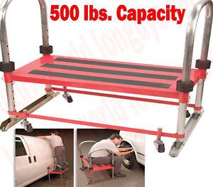 Bon Image Is Loading Heavy Duty Large Mobile Platform Step Stool Adjustable