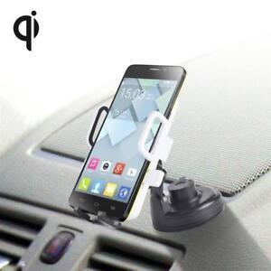 Wireless-KFZ-Auto-Halterung-QI-Samsung-Galaxy-S9-Note-8-Iphone-X-8-8-Plus