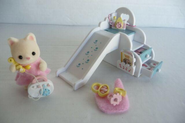 Sylvanian Families KA-207 Furniture Baby Playground Slide Set Calico Critters