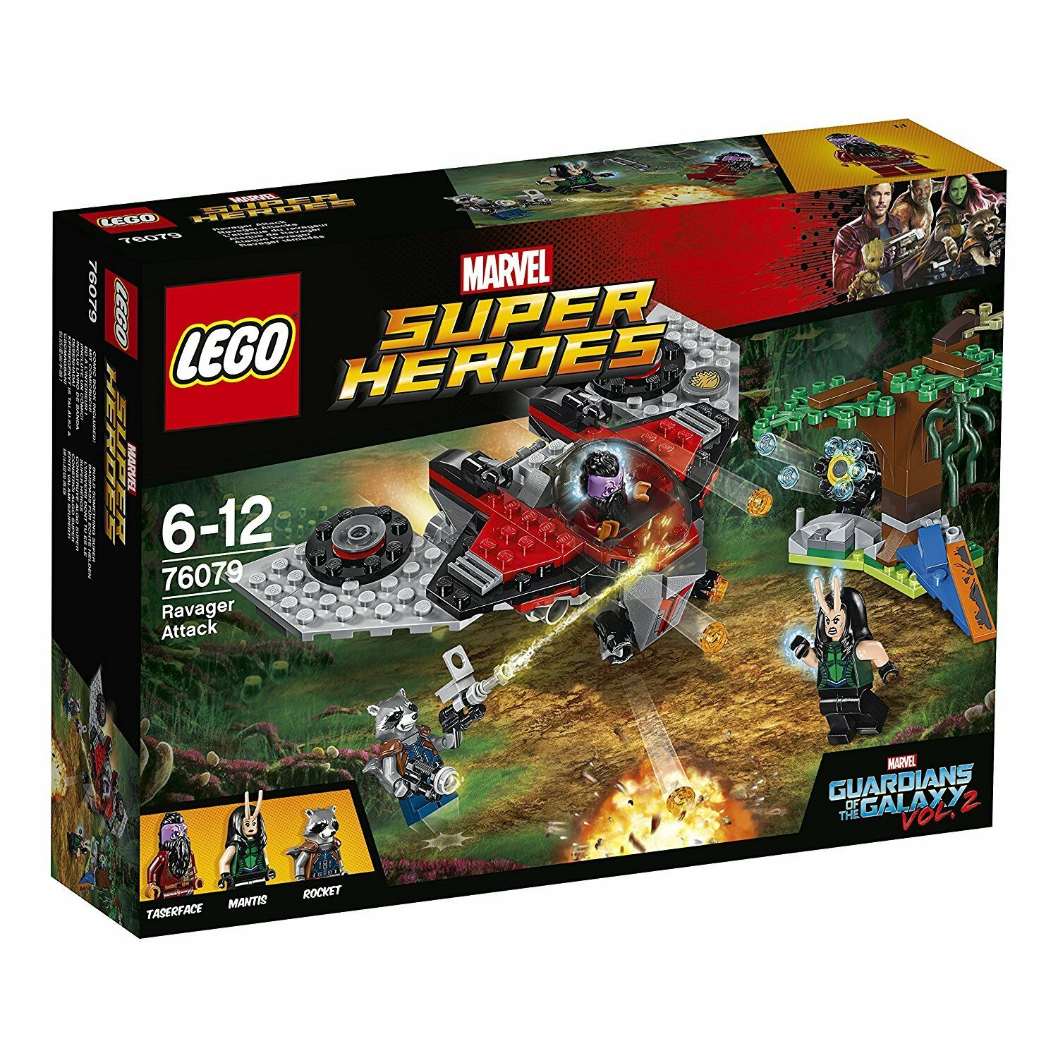 Heroes Volume The Super Of Lego Guardians Galaxy 2 Neuf 76079 3lFKuT1Jc