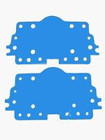 Holley Carburetor 108-27-2 Metering Plate Gasket 4160 Non Stick Blue 2 Pack G64