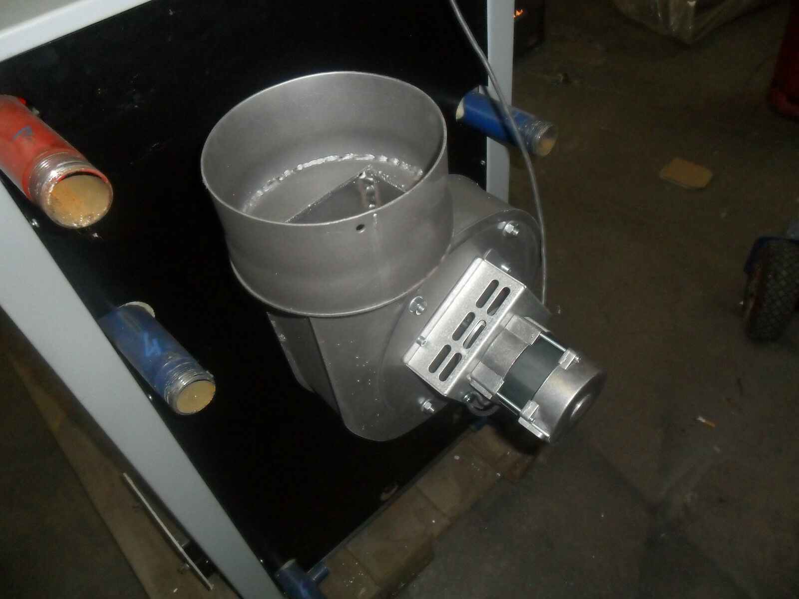 Abzugventilator, Abgasventilator, Rauchabzugventilator 160 mm Durchmesser