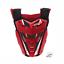 PULSE-RED-amp-BLACK-MOTOCROSS-MX-ENDURO-BMX-MTB-MOUNTAIN-BIKE-CHEST-PROTECTOR thumbnail 1