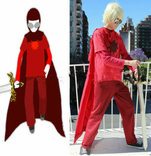 Dave Strider God Tier Cosplay Costume From HOMESTUCK Custom Made