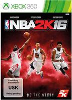 Microsoft Xbox 360 Spiel Nba 2k16 Basketball 2016 Neunew