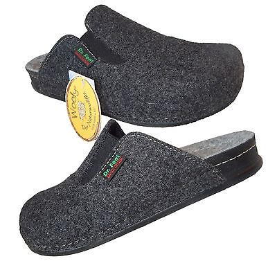 Slippers Warm Slippers Virgin Wool Side Elastic Comfortable schlupfer