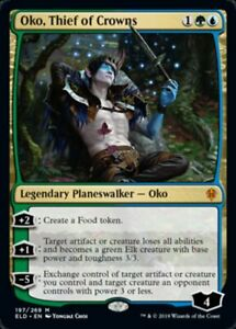 Oko-Thief-of-Crowns-Magic-Throne-of-Eldraine-ELD-MTG-NM-FREE-SHIPPING