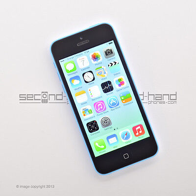 Apple iPhone 5C 8GB - Blue - Factory Unlocked - Good Condition