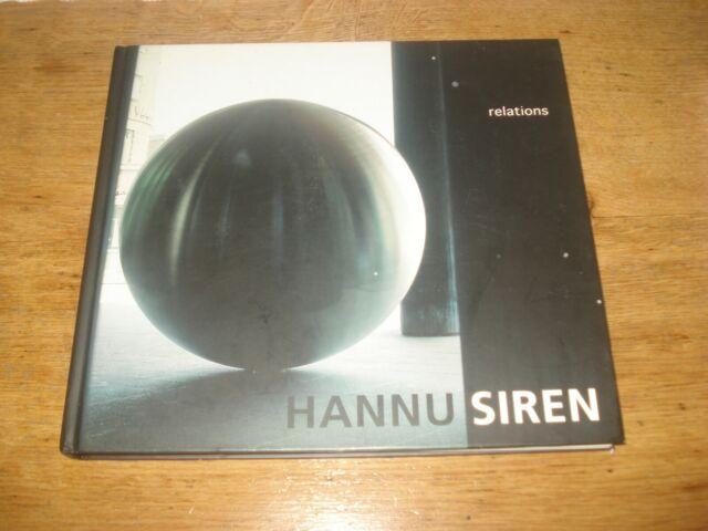 Hannu Siren: Relations,SIGNED COPY HARDBACK 2003