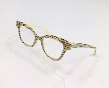 New Listingvintage Ray Ban Bausch Lomb Bampl Horn Rim Cat Eye Eyeglasses Glasses Patterned