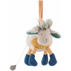 Moulin-Roty-Les-Zig-et-Zag-Zephyr-Musical-Sheep-Doll-Baby-Soft-Toy-Plush-20cm