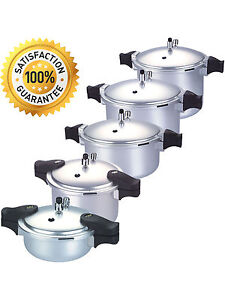 Kitchen King Anodized Pressure Cooker Blaze Professional Heavy Duty