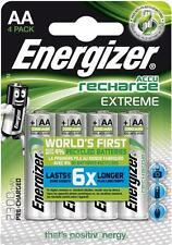 4pcs Energizer EXTREME 2300mah NiMH AA HR6 rechargable photo battery 6x longer
