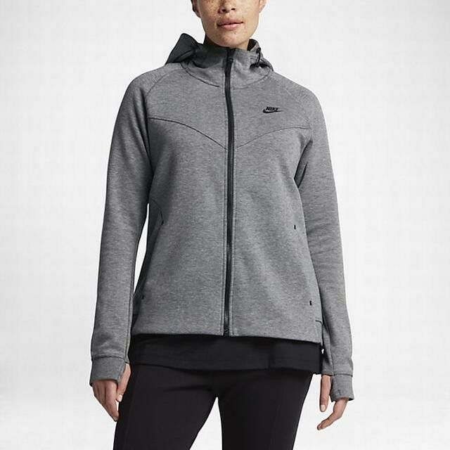 de491d5fe Nike Tech Fleece Sweatsuit Hoodie & Pants Carbon Heather Black Women's 3x  for sale online | eBay