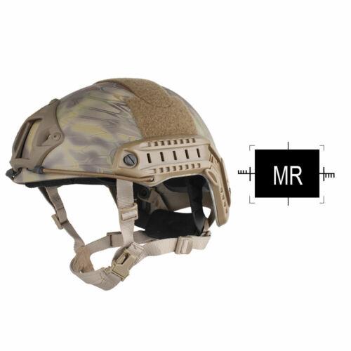 Emerson Tactical MH FAST Helmet MICH Ballistic Type Advanced w// NVG shroud Rails