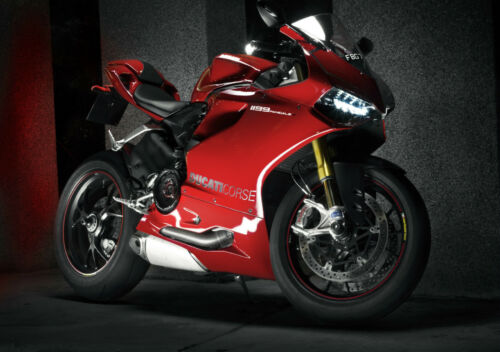 A0 A1 A2 A3 A4 Sizes Ducati 1199 Panigale Superbike Giant Poster Art Print