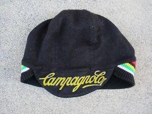 Casquette-bonnet-cycliste-CAMPAGNOLO-WORLD-CHAMPION-oldschool-cap-vintage-70-039-s