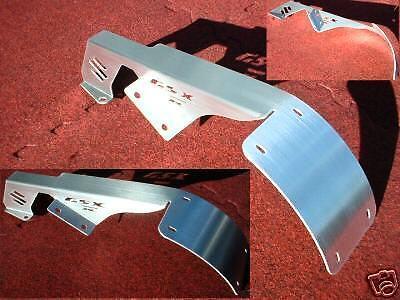 GSXR GSX-R 750 1000 SWINGARM COVER CHAIN GUARD LICENSE PLATE TAG RELOCATOR 304BR