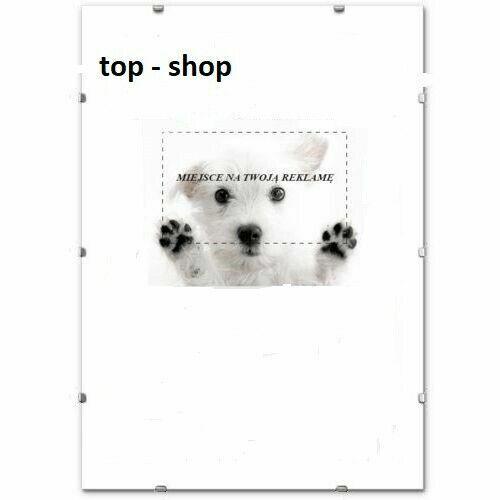 10 x Bilderrahmen Rahmenlos Bildhalter CLIP RAHMEN 10 stück 30x40