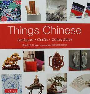 LIVRE-BOOK-CHINOIS-ANTIQUTES-COLLECTION-METIERS-antiques-crafts-collectible