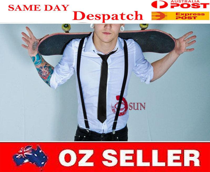 7-14 Years Old BOY Teenage 25mm Pants Suspenders Braces Elastic over 20 Color