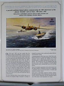 The-Doolittle-Tokyo-Raiders-B-25-USS-Hornet-Robert-Taylor-Aviation-Art-Flyer