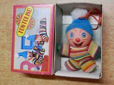 Vecchia Bambola TONTOLINO pupazzetto in scatola originale tipo fiammiferino di