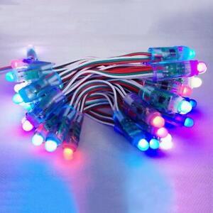 50-PCS-WS2811-RGB-Full-Color-12mm-Pixels-Digital-Addressable-LED-String-DC-5V-BO