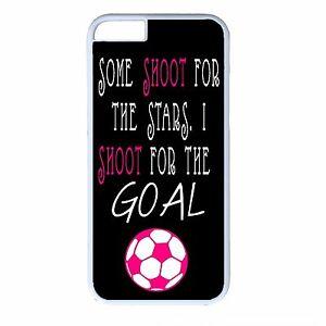 Girl-Soccer-Funny-Cute-Futbol-Quote-iPhone-4s-5s-5c-6-6s-Plus-White-Case-Cover
